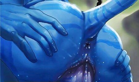 Russo Gangbang con film erotici amatoriali studente in mini gonna